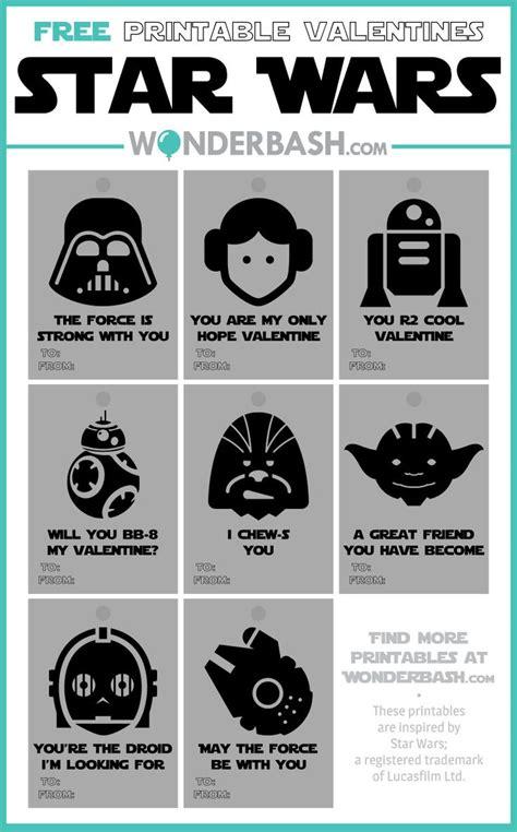 printable valentine tags pinterest star wars valentines labels tags free printable download