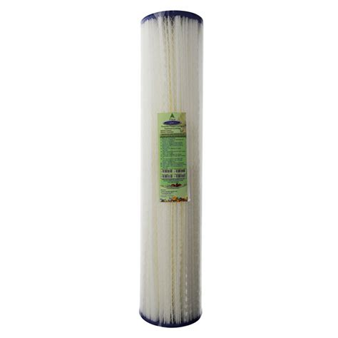 20 Inch Nano Filter 3 Micron Pp Sedimen Filter Air pleated sediment filter cartridge 5 micron 20x5 inch