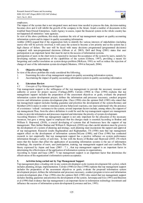 how a research paper should look research paper on management information system 28