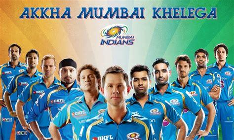 ipl 2017 mumbai team players ipl season 10 mumbai indians mi team squad players