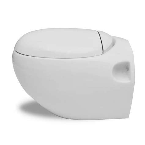 bidet set vidaxl co uk wall hung toilet bidet set white ceramic