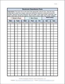 restaurant server schedule template server checklist template restaurant schedule template 2