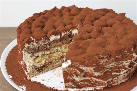 kuchen backen einfache rezepte tiramisu torte ohne alkohol und ohne kaffee absolute