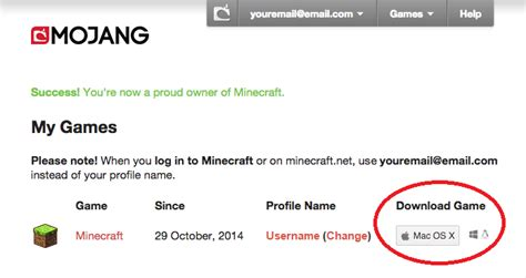 Minecraft Pc Gift Card - mojang redeeming a prepaid card or gift code