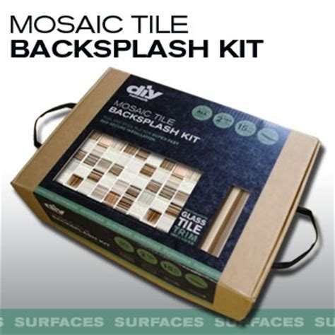 do it yourself backsplash kit no cement no