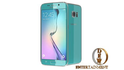 3d Electroplate Grip For Samsung S6 Edge samsung galaxy s6 and s6 edge 9 model 5 colour collection 3dsmax 3d model animated max 3ds fbx