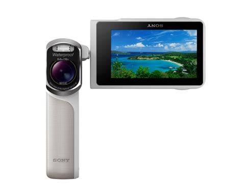super tough handycam gw55ve digital camcorder launched by sony