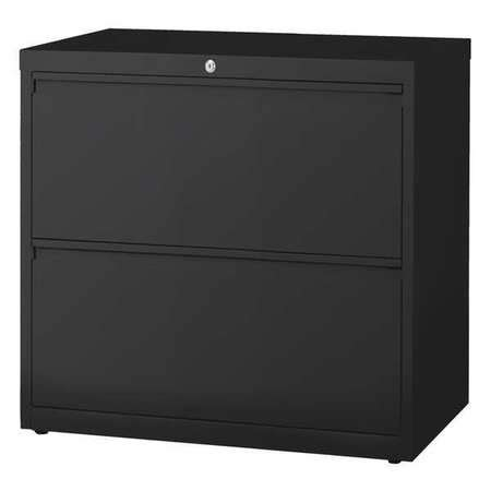 30 lateral file cabinet hirsh lateral file cabinet 30 in w black 14971 zoro
