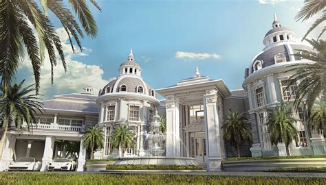 Free 3D Models HOUSES VILLAS NEOCLASSICAL VILLA by Supraaudcha Andthe Somboon