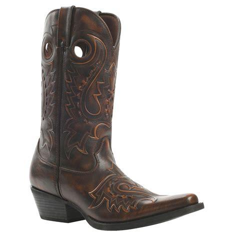 durango boots s gambler by durango s brown western boots db5433