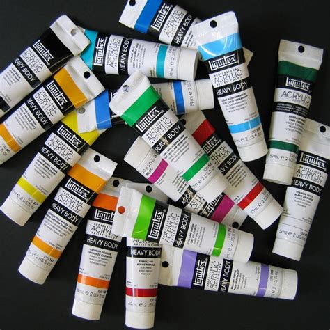 acrylic paints liquitex heavy prof artist acrylic paint 2 oz