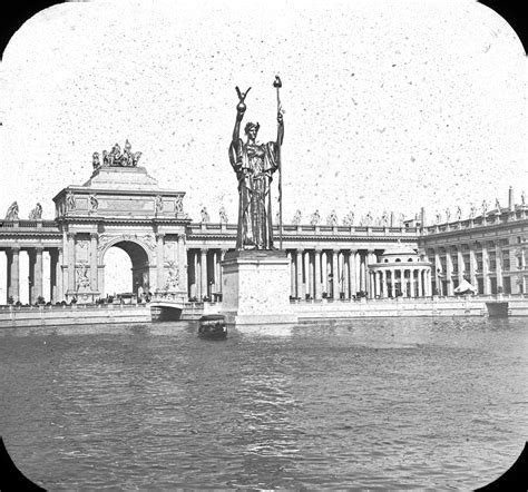 Chariot A 1893 by File Worlds Columbian Exposition Statue Of The Republic