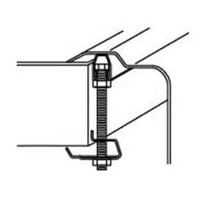 shop elkay 129 kitchen sink mounting hardware kit at lowes