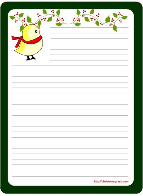 printable holiday note paper 865 best writing paper images on pinterest writing paper