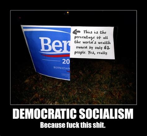 sign memes counter meme on that dumb bernie yard sign