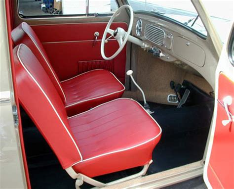 vw beetle upholstery volkswagen beetle red interior