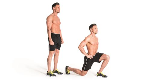 how to do how to do lunges build lower power and balance coach