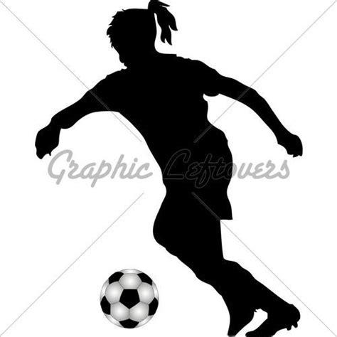 Girl Soccer Player Silhouette | www.pixshark.com - Images ... Girl Soccer Silhouette Clip Art