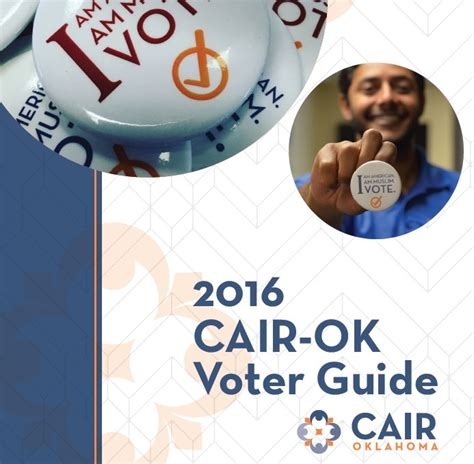 oklahoma voter list information cair ok releases 2016 muslim voter guide cair oklahoma