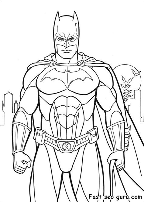 city background coloring page printable batman costume arkham city coloring in sheet