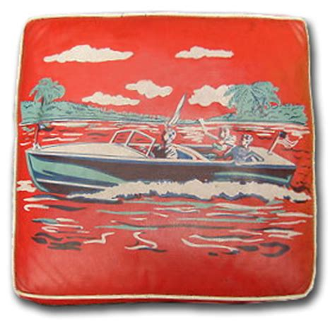 boat cushions nj rare vintage boat cushion to be auctioned off in torch