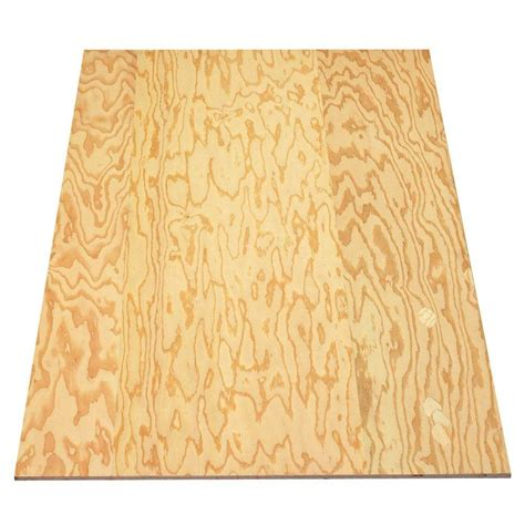 sheathing plywood structural 1 common 3 8 in x 4 ft