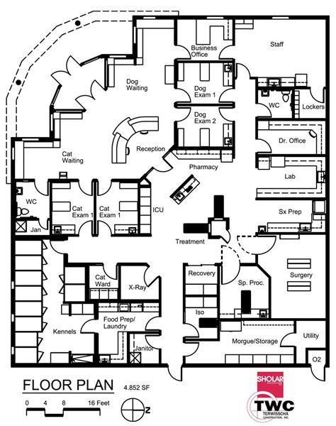 medical center floor plan veterinary floor plan all pets medical center pinteres