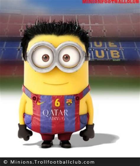 imagenes de minions barcelona xavi minion football funnies pinterest barcelona