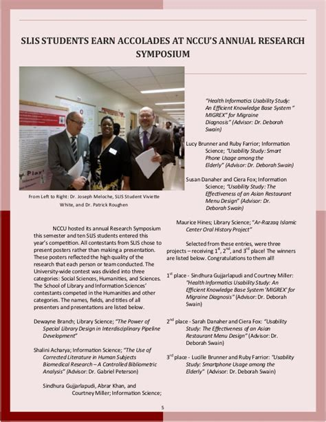 Nccu Mba Mis by 2016 Slis Newsletter