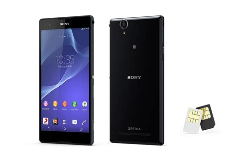 sony 2 sim mobile xperia t2 ultra dual features dual sim mobile sony