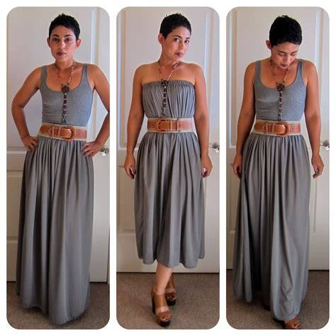 diy tutorial maxi skirt start to finish fashion