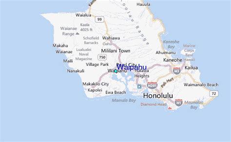 waipahu map waipahu tide station location guide