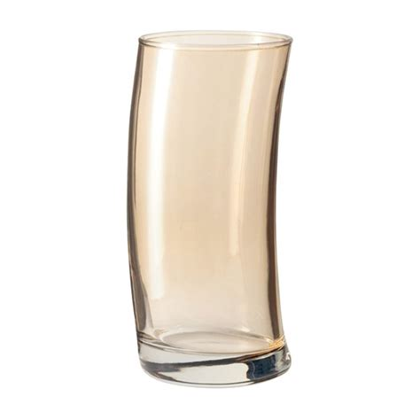 leonardo bicchieri leonardo bicchieri alti swing marrone set 6 pezzi