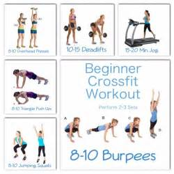 crossfit at home workouts for beginners beginner crossfit workout