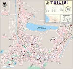 map tbilisi new school