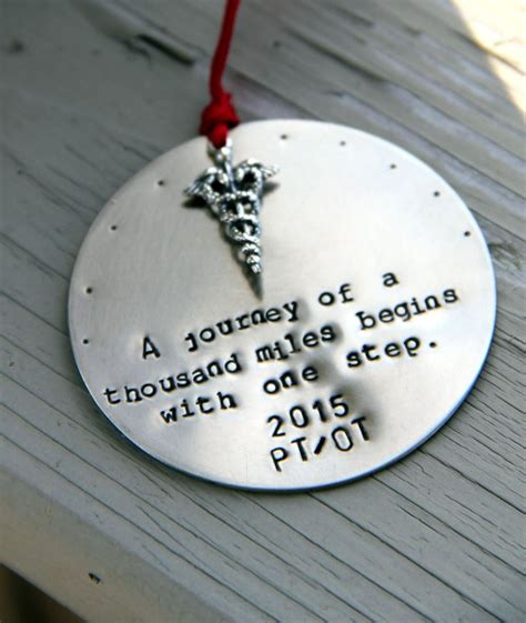 Gift Of Therapy physical therapist ornament physical therapist gift