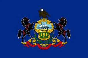 penn state colors pennsylvania flags emblems symbols outline maps