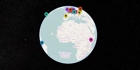 visitor pattern in js real time web visitor tracking globe using node js and webgl