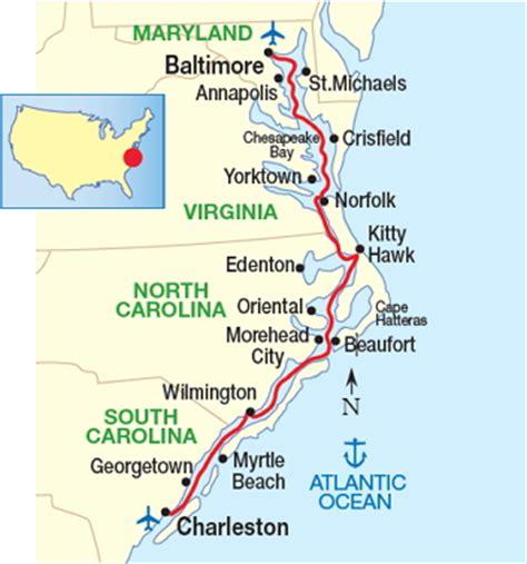 intracoastal waterway map