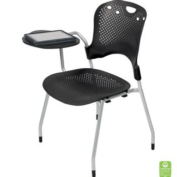 Kursi Stacking Chair college classroom chairs with desk arm set of 4