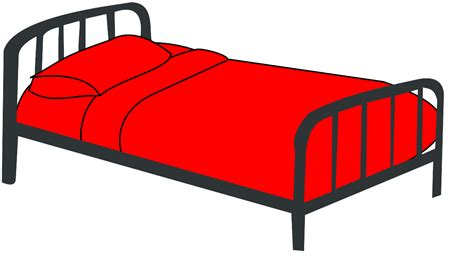 bed cartoon bed red clip art vector clip clipart panda free