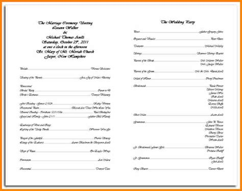 Catholic Wedding Program Template search results for sle of wedding program calendar 2015
