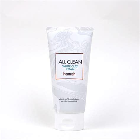 heimish all clean white clay foam heimish all clean white clay foam review