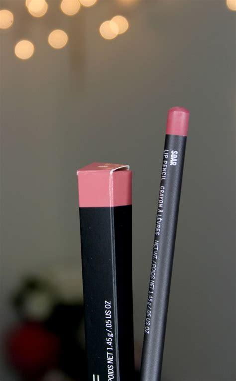 Lip Liner Mac mac lip pencil in soar review swatch
