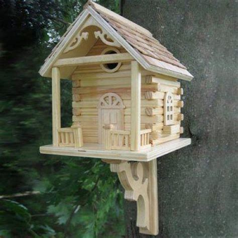 Decorative Bird Houses by Home Bazaar Cabin Birdhouse Decorative Bird Houses