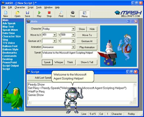 talking animated characters software buysig
