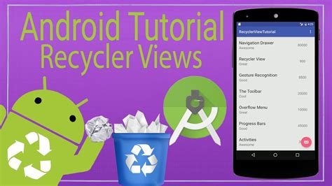 android tutorial youtube playlist android tutorial 10 the recyclerview youtube