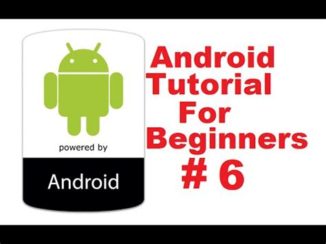 android studio development tutorial for beginners pdf programmingknowledge android tutorial for beginners 6
