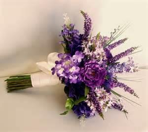artificial flower bouquets wedding flowers lilacs bridal bouquet purple lavender wedding accessory silk lilac