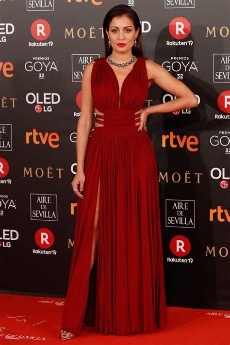 la alfombra roja de los premios goya 2018 - Alfombras Rojas 2018